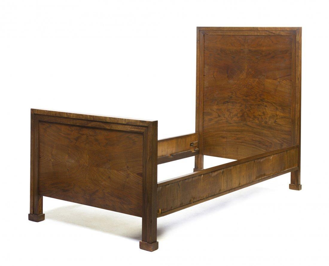 A George Washington Maher Mahogany Bed, (1824-1926), He