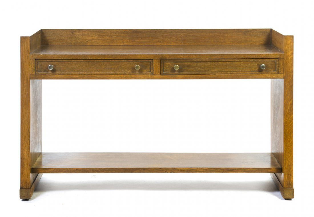 A George Washington Maher Oak Sideboard, (1824-1926), H