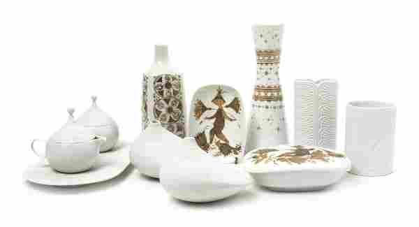 A Collection of Danish Porcelain Articles, Bjorn Wiinbl
