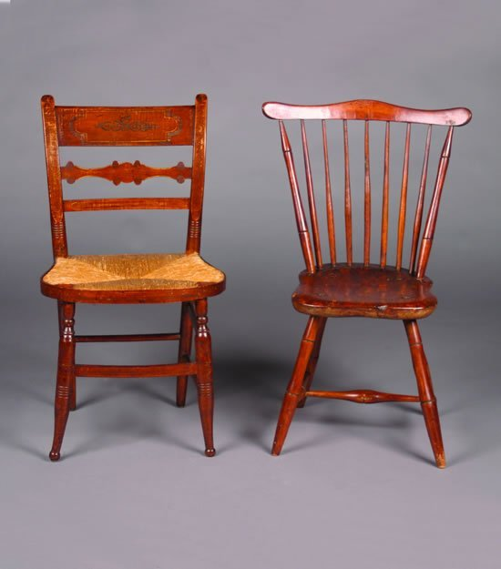 17: A Windsor Side Chair,