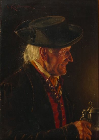 726: Carl Kronberger (Austrian, 1841-1921)