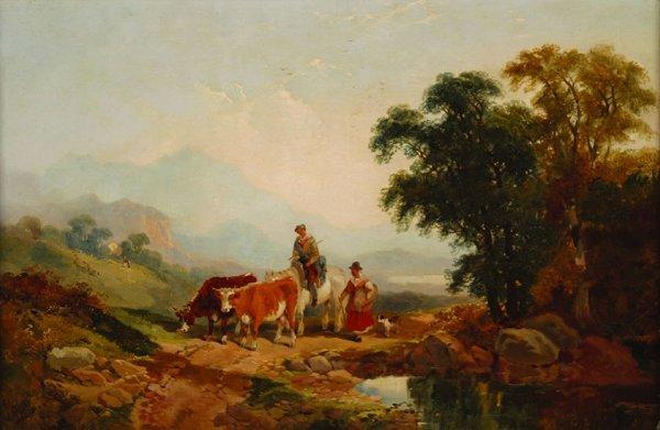 732: George William Horlor (British, 1849-188