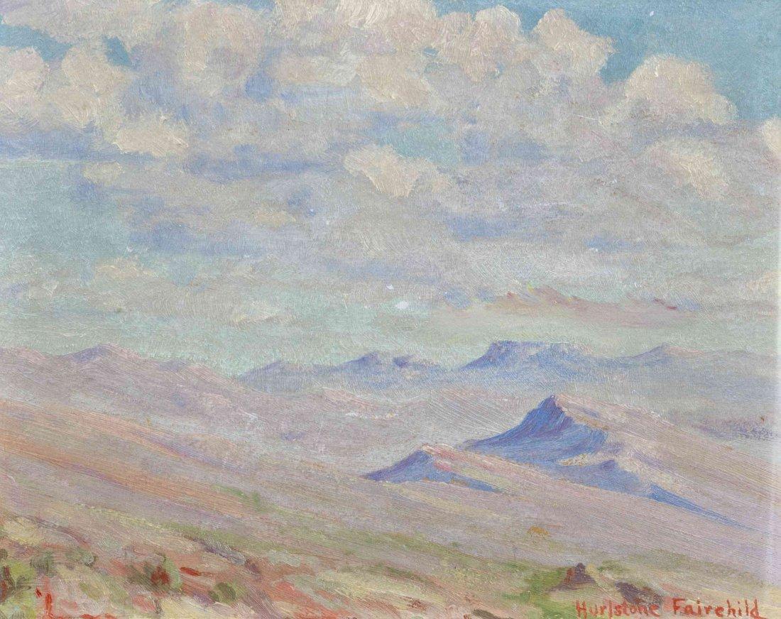 Hurlstone Fairchild, (American, 1893-1966), Mountain Pe