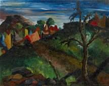 William Samuel Schwartz, (American, 1896-1977), The Roa