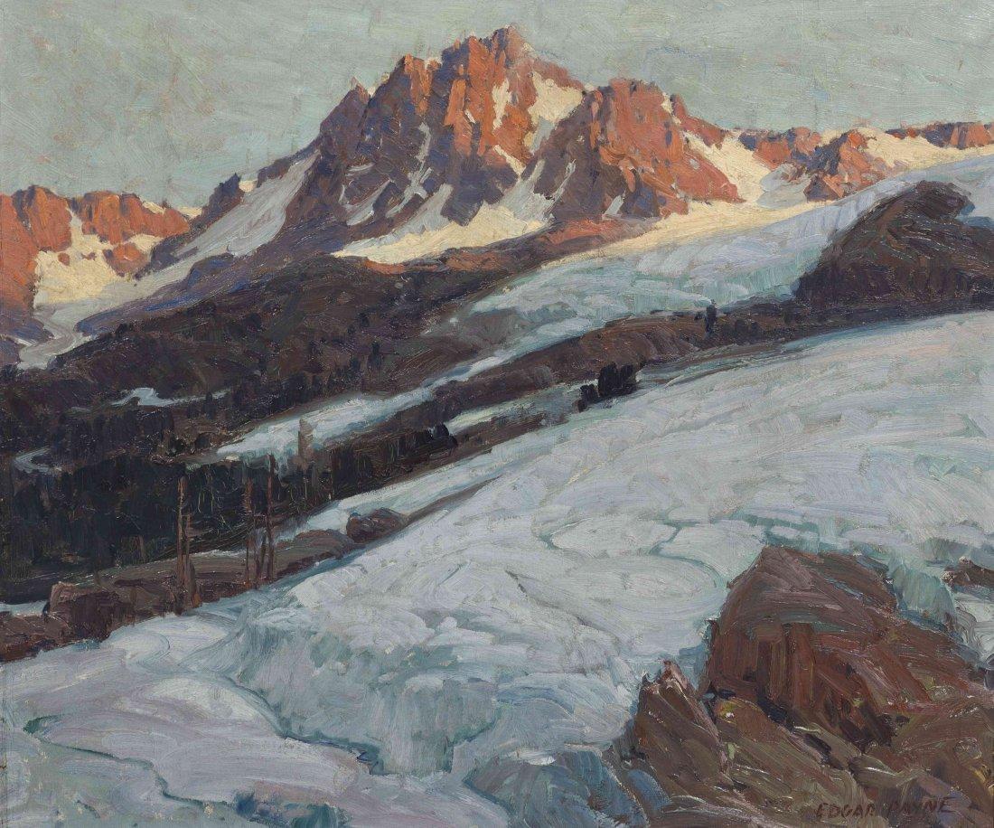 Edgar Alwin Payne, (American, 1883-1947), Moutain Range
