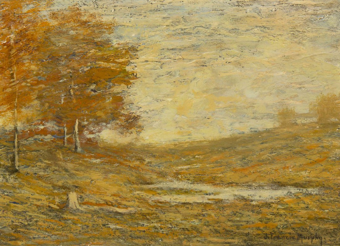 John Francis Murphy, (American, 1853-1921), Autumn Land