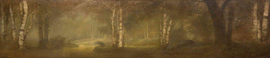 George Mann Niedecken, (American, 1878-1945), Trees in