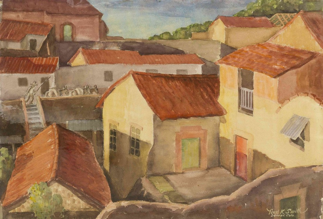 Paul Kauvar Smith, (American, 1893-1978), Moving the Do