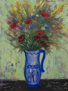 Reuven Rubin, (Israeli, 1893-1974), Fleurs de Champs, 1