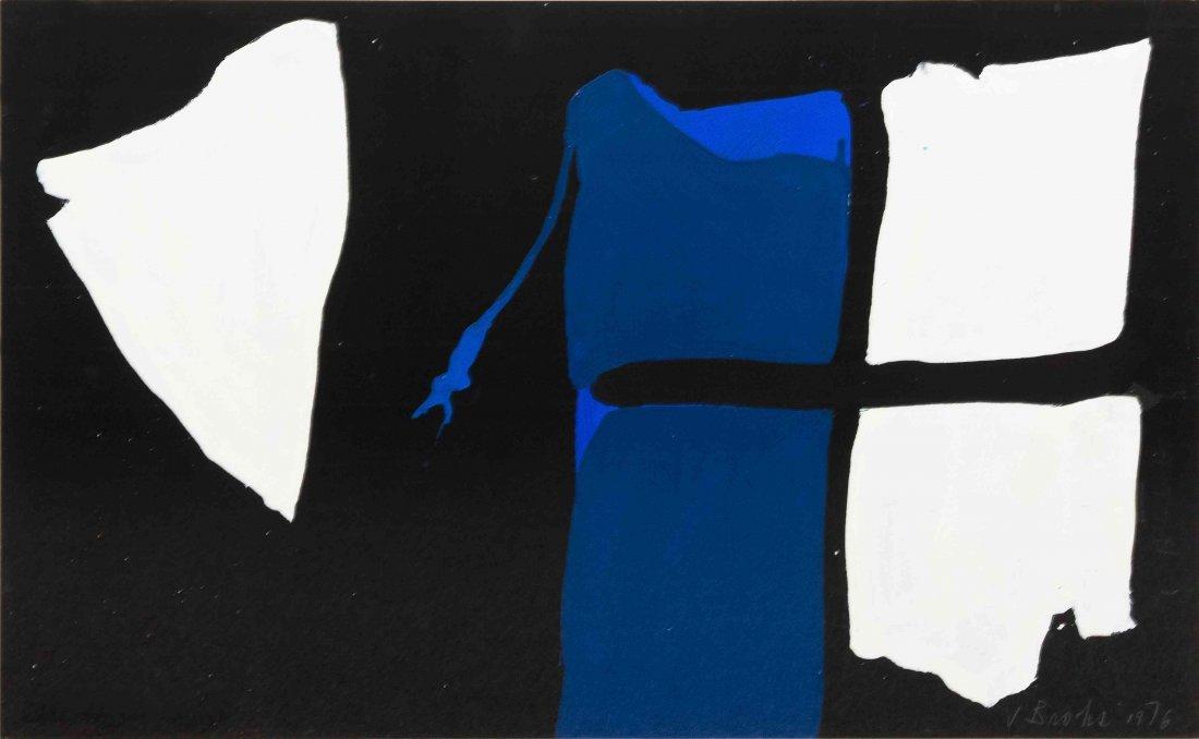 James Brooks, (American, 1906-1992), Untitled, 1976