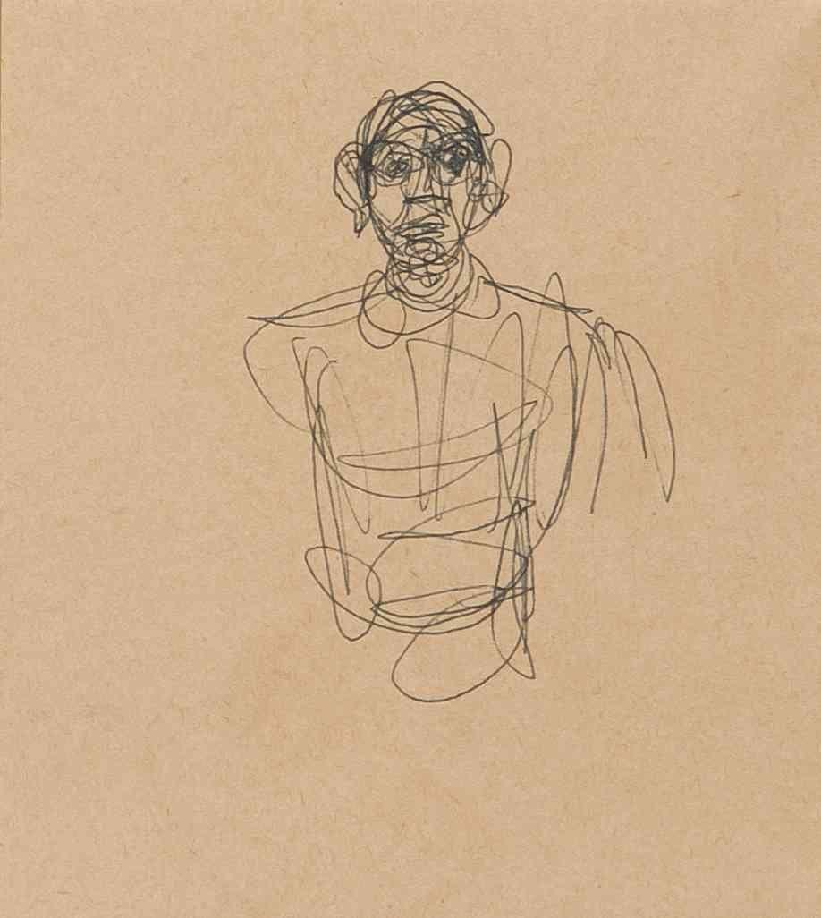 Alberto Giacometti, (Swiss, 1901-1966), Study of a Man