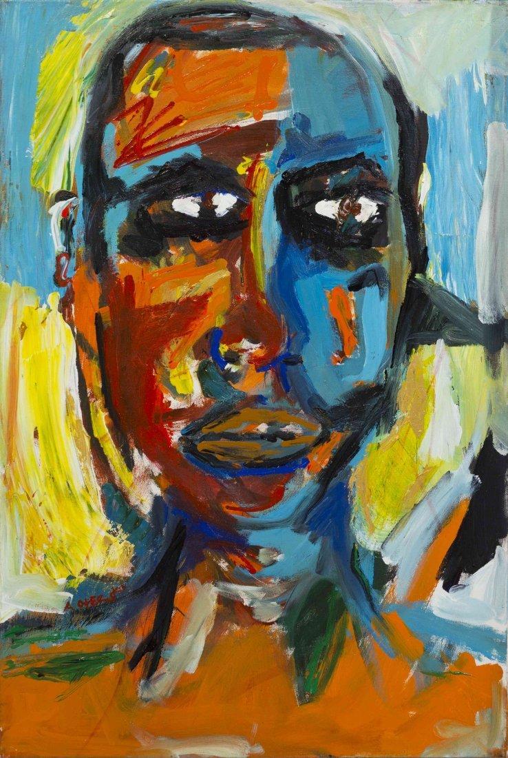 Angel Otero, (American, b. 1981), Autorretrato #3, 2003