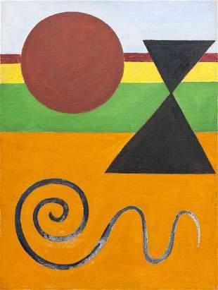 Alexander Calder, (American, 1898-1976), Untitled, c. 1