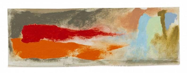 Friedel Dzubas, (American/German, 1915-1994), To Arcadi
