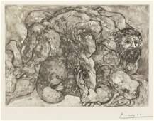 Pablo Picasso, (Spanish, 1881-1973), Couple faisant l'a