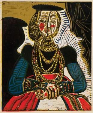 Pablo Picasso, (Spanish, 1881-1973), Buste de Femme d'a