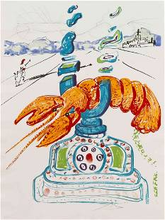 Salvador Dali, (Spanish, 1904-1989), Objects and Imagin