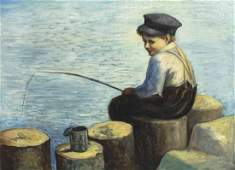 Artist Unknown, (American School, 20th Century), Young