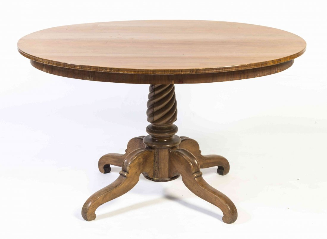 An American Maple Breakfast Table, Height 27 1/4 x