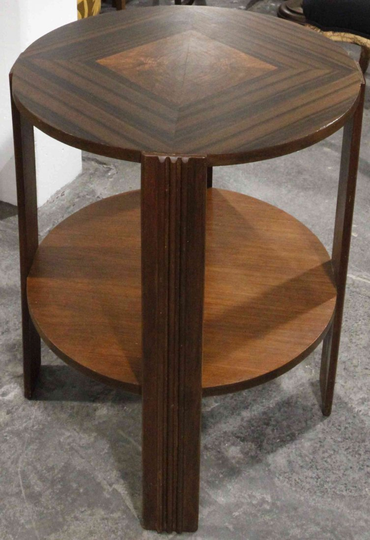 An Art Deco Style Occasional Table, Height 26 3/4 x