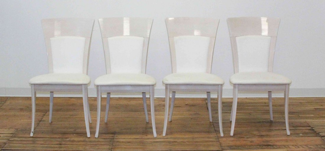 A Set of Four Side Chairs, Pietro Costantini, Height 37