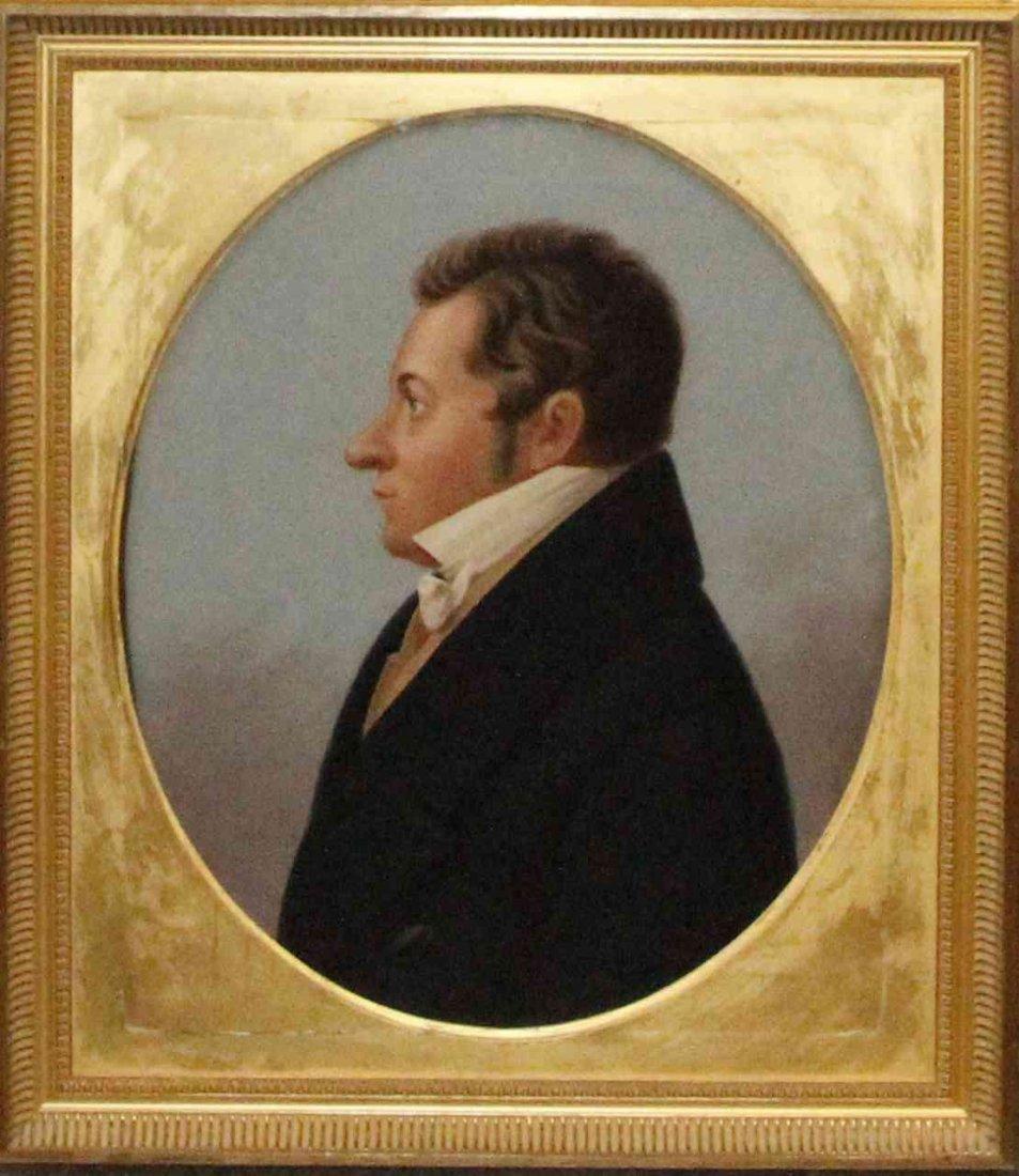 American School, (19th century), Portrait of John Field