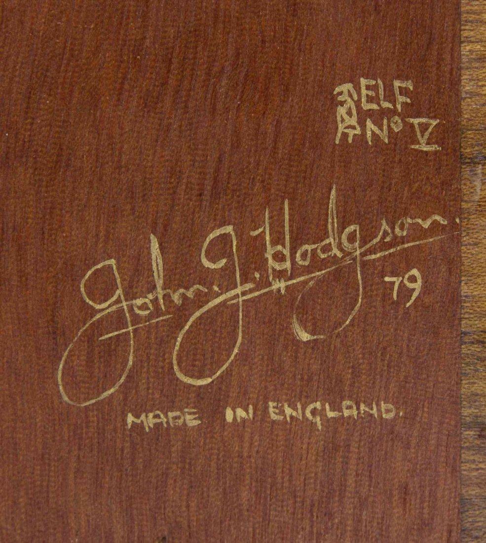 A George II Style Mahogany Secretaire Bookcase, John J. - 3