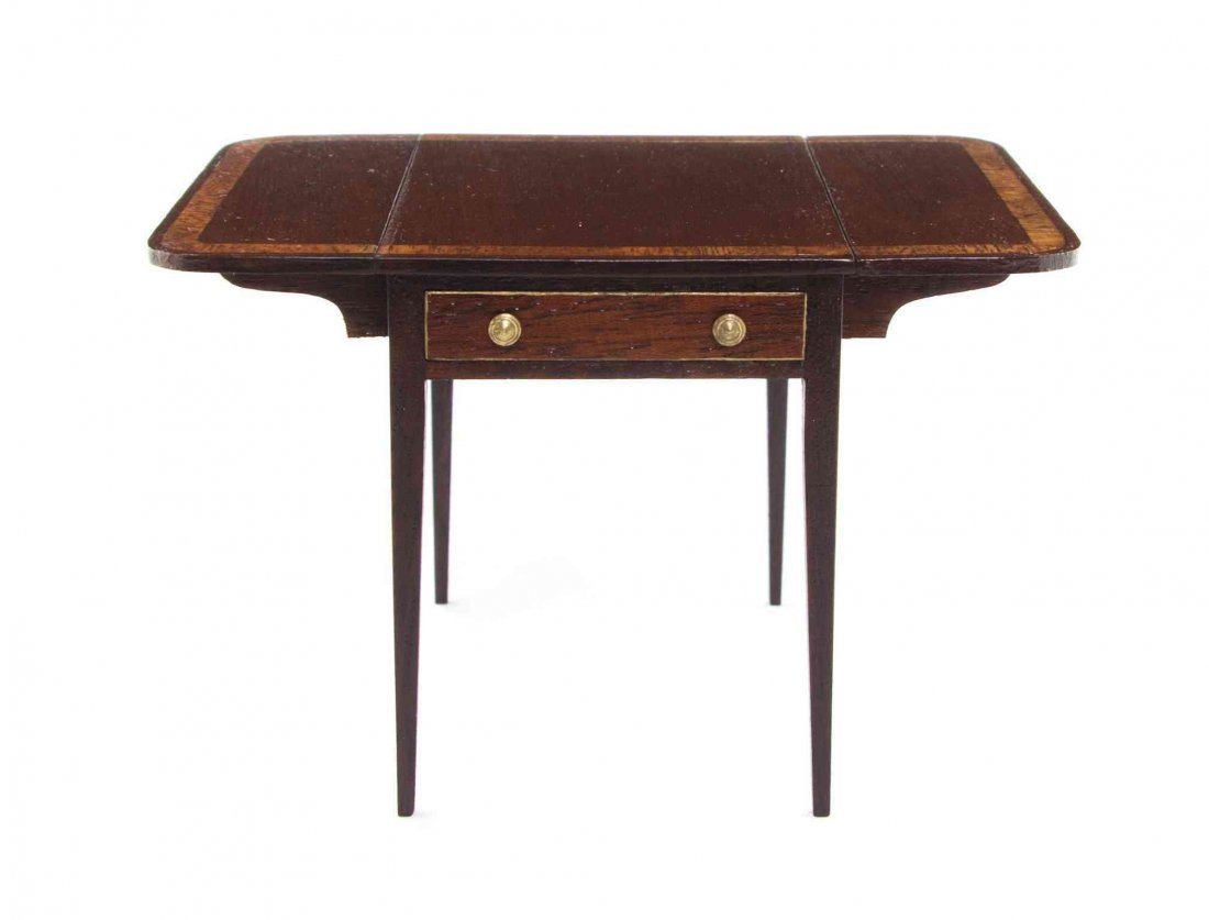 A Regency Style Mahogany Pembroke Table, John J.