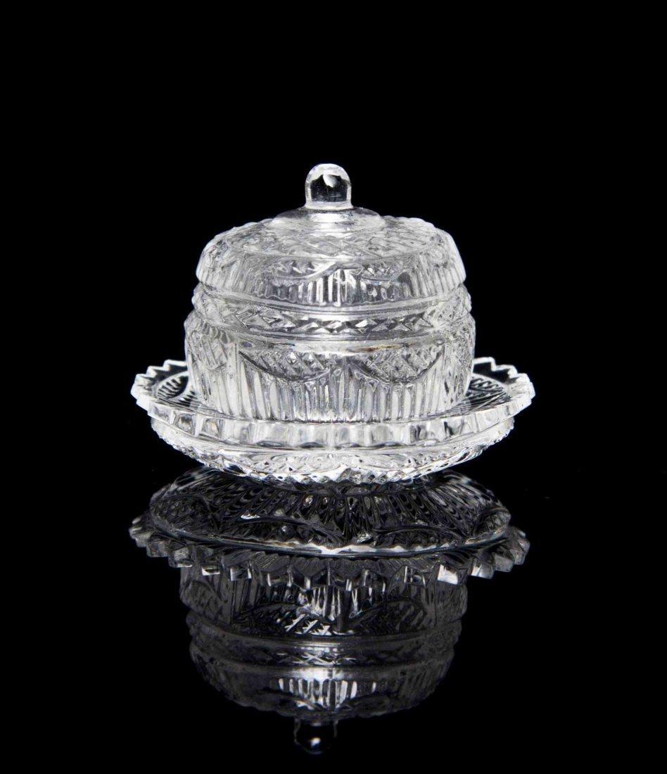 A Crystalina Covered Dish, Jim Irish, Diameter of