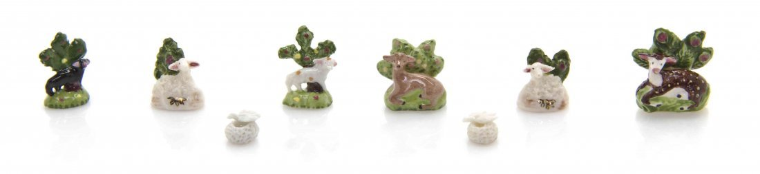A Collection of Staffordshire Style Porcelain Figures,
