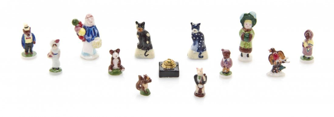 A Collection of Porcelain Figures, Ron Benson, Height