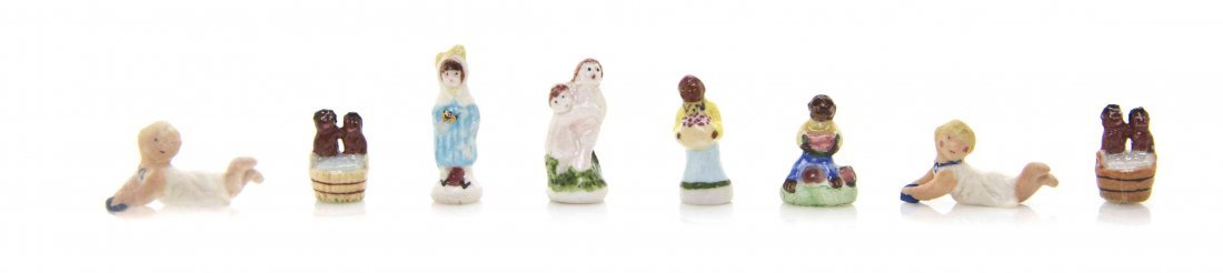 A Collection of Porcelain Figural Articles, Ron Benson,