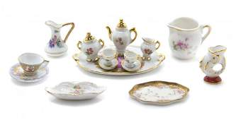 A Collection of Porcelain Articles, Width of widest 3
