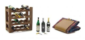A Collection of Fifteen Miniature Wine and Champagne