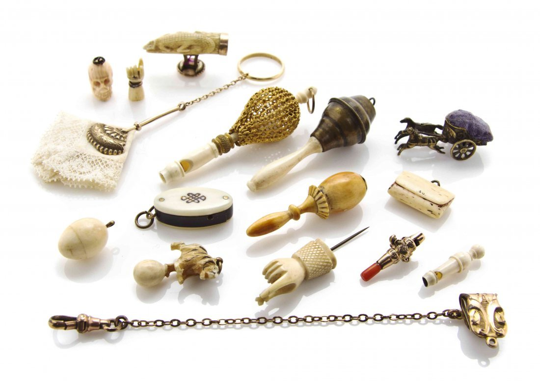 A Collection of Antique Miniature Articles, Length of