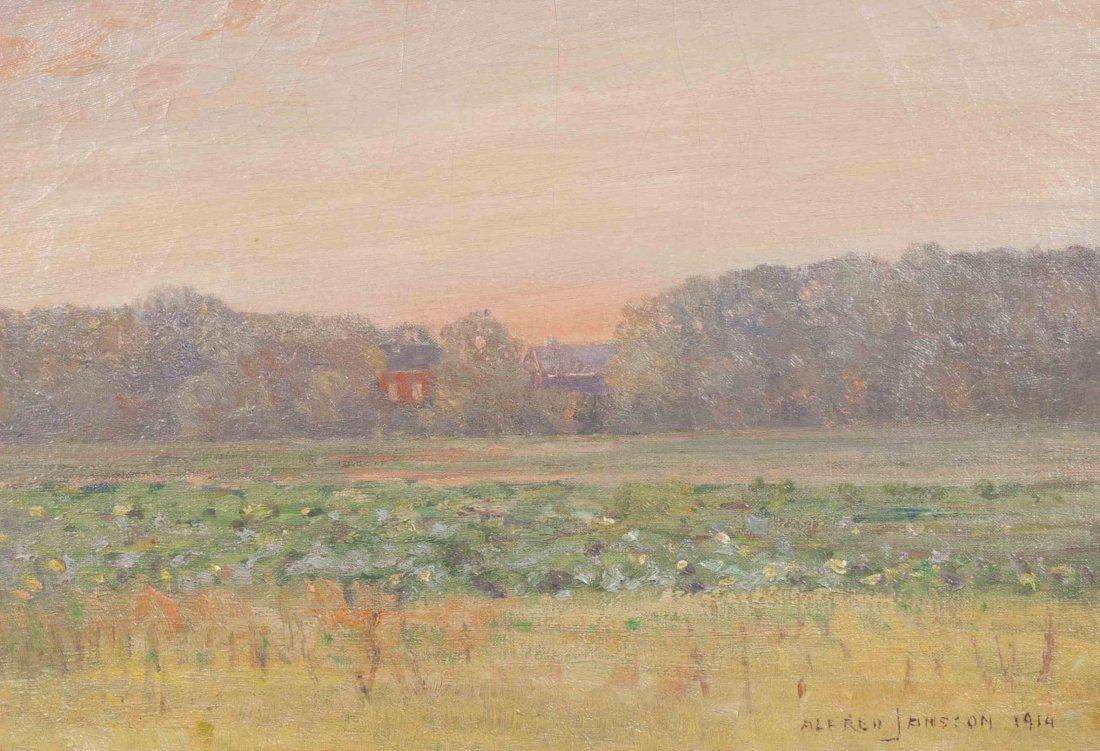 Alfred Jansson, (American/German, 1863-1931), Sunset
