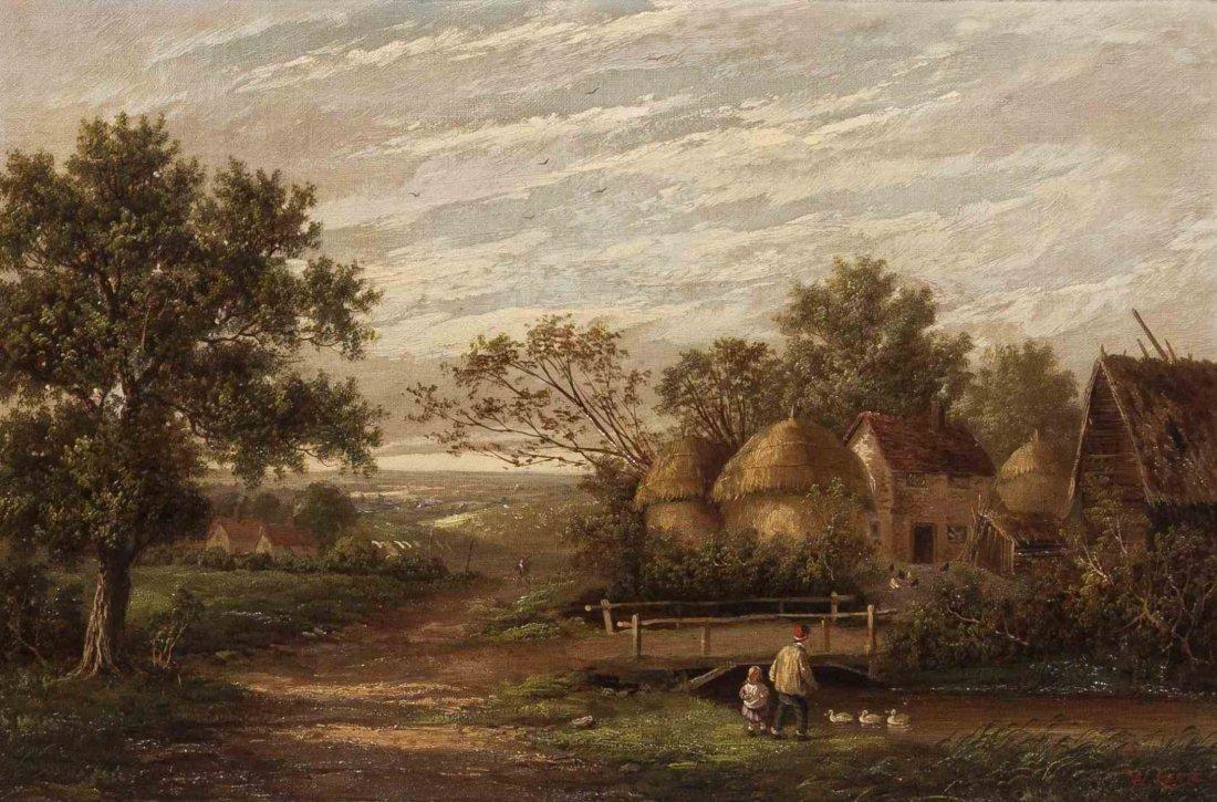 William Lara, (British, 19th century), Country Day