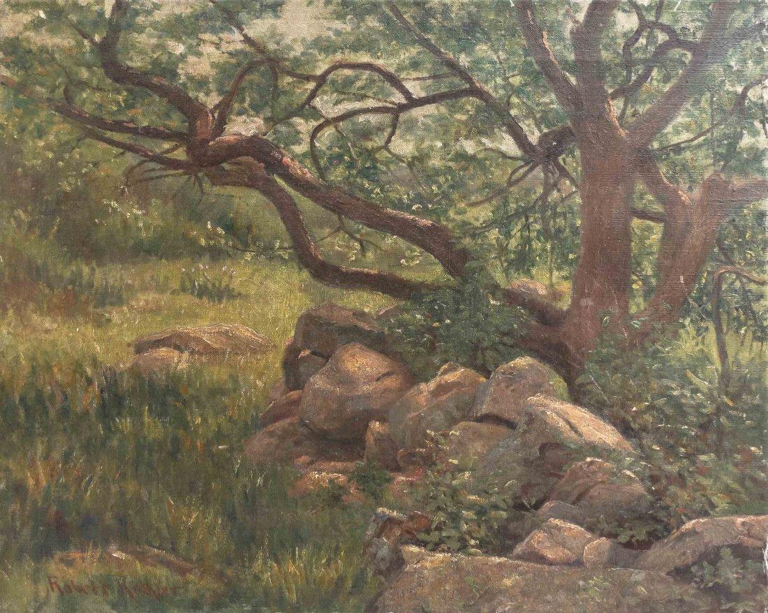 Robert Koehler, (American/German, 1850-1917), Forest