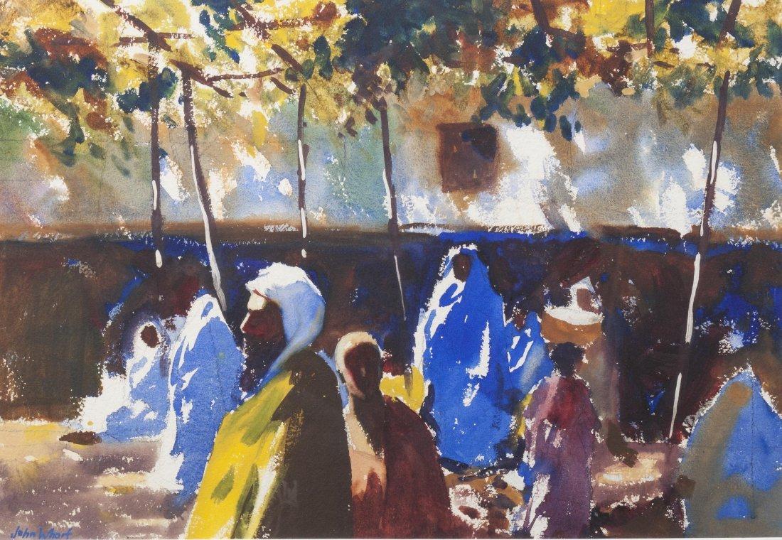 John Whorf, (American, 1903-1959), Morrocan Bazaar