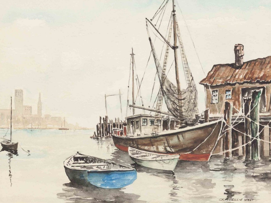 Captain Ollie Oliver West, (American, 1914-1980), The