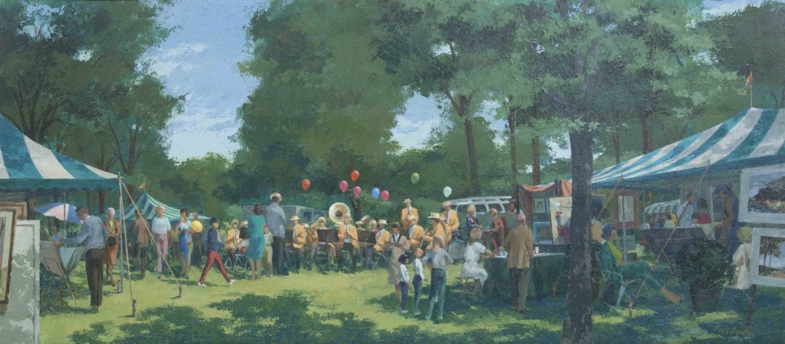 Frederick William Boulton, (American, 1904-1969), Art