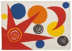 Alexander Calder, (American, 1898-1976), Untitled (from