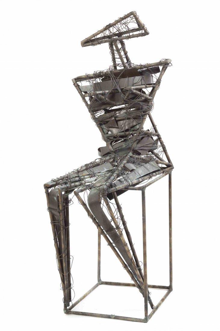 Gene Galazan, (American, b. 1942), Abstract Figure