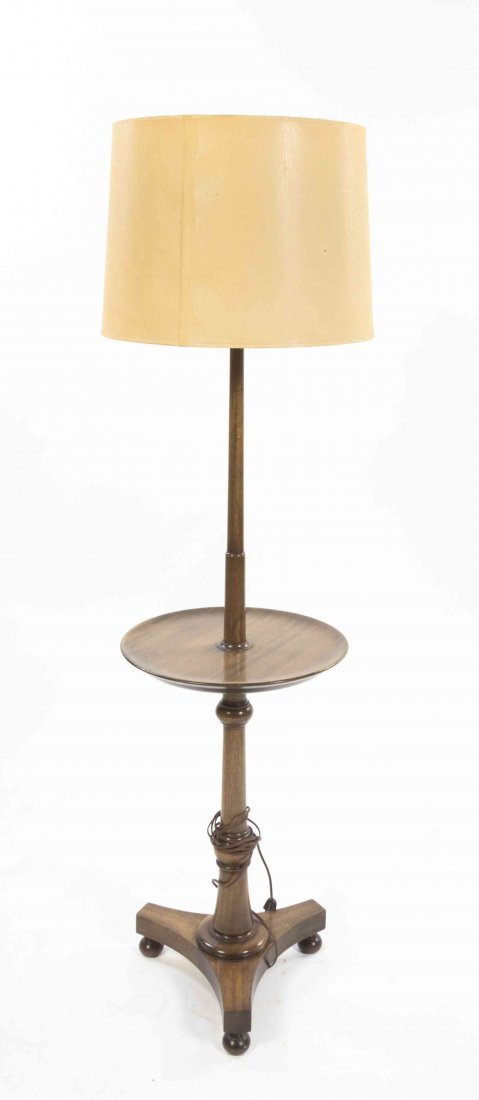 A Regency Style Floor Lamp, Height 57 3/4 inches