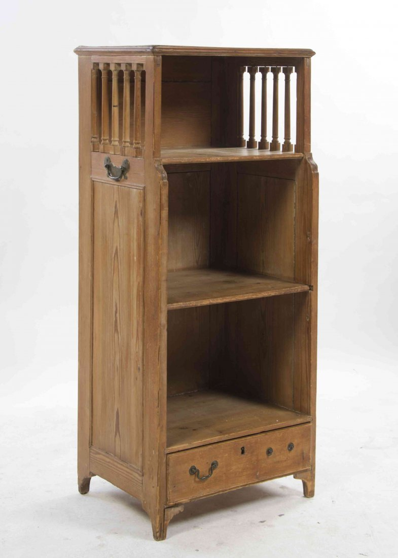 An American Rustic Pine Etagere, Height 49 1/2 x width