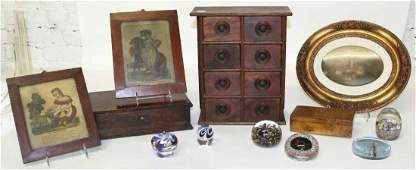 A Collection of Decorative Table Articles Height of
