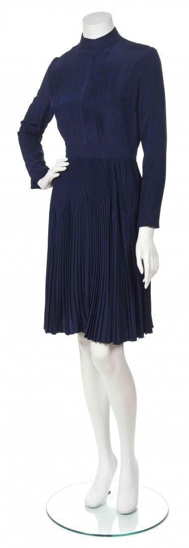 A George Halley Blue Dress,