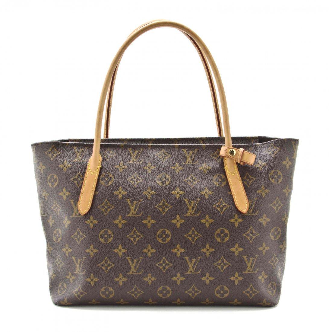 A Louis Vuitton Monogram Raspail PM Bag, 12 1/2 x 9 1/2