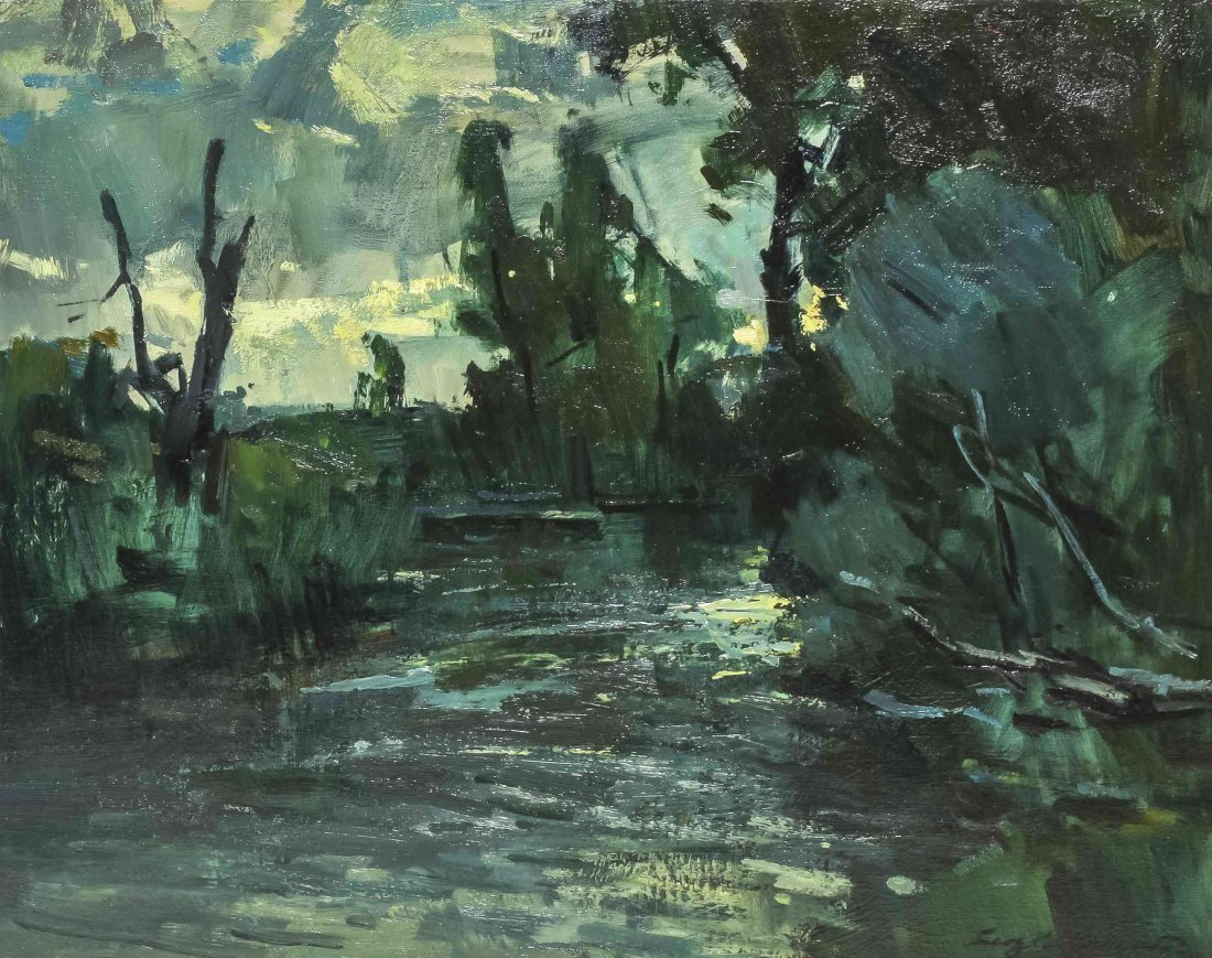 Sergei Bongart, (Russian/American, 1918-1985), Twilight