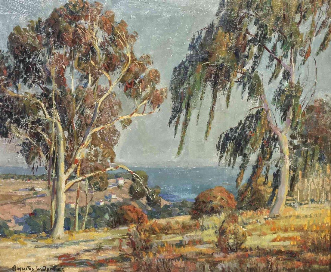 Augustus Dunbier, (American, 1888-1977), Coastal